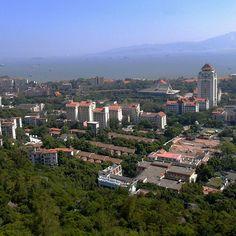 The prettiest #university in #China, #Xiamen University. #panorama #Chinesecities #福建 #厦门 #厦门大学