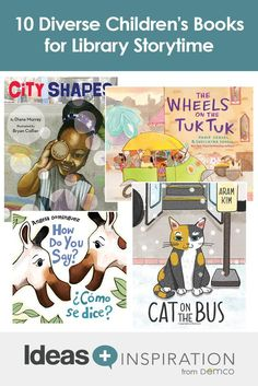 Head of Youth Services and advocate Angie Manfredi gives you 10 children's book picks to diversify your library storytime. Kids Library, Library Lessons, Library Ideas, Simple Spanish Words, Best Books List, Book Lists, Parenting After Separation, Wordless Picture Books, Before Kindergarten