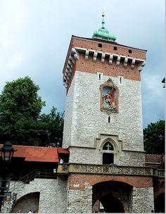 Krakow: St Florian's Gate