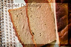 Najlepszy pasztet z wołowiny i wieprzowiny. Przepis na domowy pasztet z mięsa. Polish Recipes, My Recipes, Cooking Recipes, Christmas Cooking, Yummy Food, Bread, Food And Drink, Sausage, Chicken