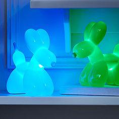 Balloon Dog Night Light | balloon lights, balloon dog sculpture | UncommonGoods