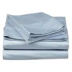 Impressions 530TC Egyptian Cotton Solid Sateen Weave Sheet Set