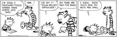 Calvin and Hobbes Comic Strip, September 19, 2013 on GoComics.com