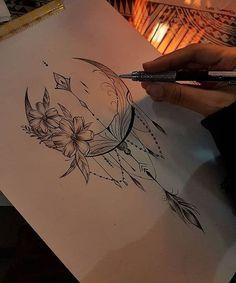10 Minimalist Tattoo Designs For Your First Tattoo - Spat Starctic 12 Tattoos, Mini Tattoos, Body Art Tattoos, Small Tattoos, Sleeve Tattoos, Tattoos For Women, Tattoo Art, Tatoos, Mandala Tattoo