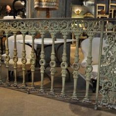 Intricate Cast Iron Rails from 1850 (would I be really selfish if wanted this TOO!?)