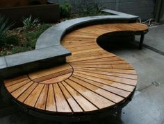 Smart Design To Make Modern Planter Bench 26 Garden Seating, Outdoor Seating, Outdoor Decor, Garden Bench Seat, Outdoor Tables, Outdoor Swings, Outdoor Patios, Outdoor Art, Outdoor Rooms