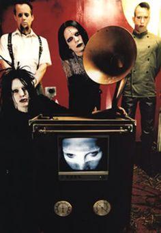 Twiggy Ramirez, Madonna Wayne Gacy, Marilyn Manson, Zim Zum and Ginger Fish