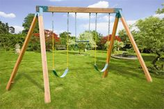 Classic A-frame Do-it-yourself Cedar Swing Set Hardware Kit Wood Included