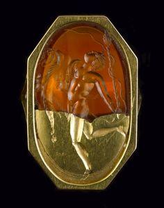 A Greek carnelian intaglio. Hellenistic, circa 3rd-2nd Century B.C.