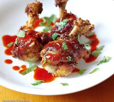 How To Make : Chicken Lollipops - Chicken Wings Recipe did with my own sauce. Lollipop Chicken Wings Recipe, Chicken Lollipops, Indian Veg Recipes, Asian Recipes, Ethnic Recipes, Yummy Recipes, Making Fried Chicken, Easy To Cook Meals, Chicken Wing Recipes