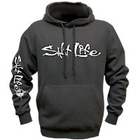 Signature Logo Pullover Hooded Sweatshirt