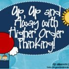 Higher Order Thinking!) from Shannon Bryant's Brain Train on TPT (26 pages). Eye-catching, hot air balloon-themed posters and handouts in beautiful colors for use with Bloom's Taxonomy from Shannon Bryant's Brain Train!