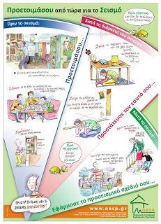 12ο ΝΗΠΙΑΓΩΓΕΙΟ ΓΑΛΑΤΣΙΟΥ: ΣΕΙΣΜΟΣ ΣΕΙΣΜΟΣ ΜΗ ΣΕ ΠΙΑΝΕΙ ΠΑΝΙΚΟΣ Pre School, School Projects, Preschool Activities, Map, Blog, Location Map, Blogging, Maps