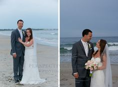 Jenn + Shane {wedding} Narragansett beach wedding, Rhode Island - Perspective Passion Photography
