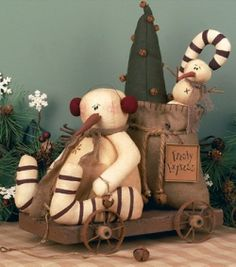 Results for All Products > Subcategory: Snowmen - Primitive Home Decors