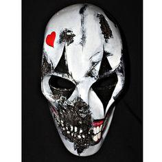 Army of two Airsoft Paintball BB Softair Gun Prop Helmet Salem Costume Cosplay Goggle Mask Maske Masque Joker MA104