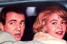Sandra Dee and Bobby Darin on their wedding day, 1st December 1960.