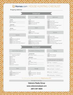 House Hunting Worksheet Freebie | Hunting, Love this and My house