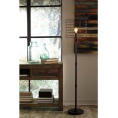 Fall in love with the Javan Antique Black Metal Floor Lamp by Signature Design by Ashley at Direct Value Furniture proudly serving Roscoe, IL and surrounding areas for over 10 years! Arc Floor Lamps, Black Floor Lamp, Modern Floor Lamps, Black Metal, Torchiere Floor Lamp, Lamp Shade Store, White Table Lamp, Living Room Flooring, Unique Furniture