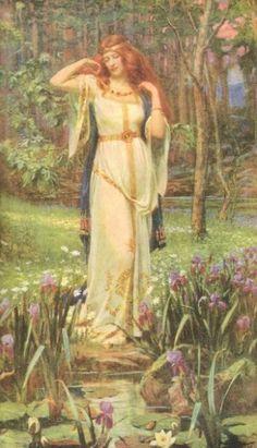 Freya - Viking's goddes of love, sexuality, fertility, magic