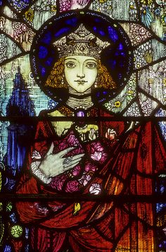 Stained-Glass: Harry Clarke #stained-glass window.