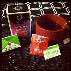 Stash Tea and Truvia