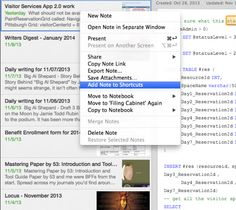 Using Shortcuts in Evernote to Speed Up Your Work