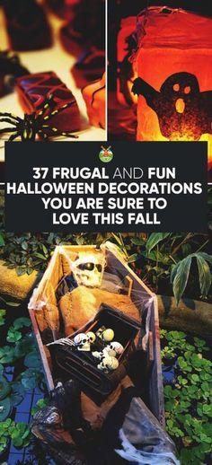 101 Handmade Halloween Craft Ideas - Decorate your home or throw a - good halloween decoration ideas
