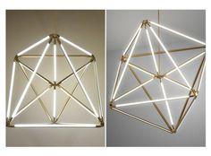 geometric chandelier