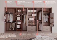 Bedroom Wardrobe Accessories And Lighting