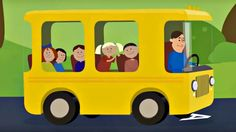 Детские песенки. Песенки про машинки: машины, автобусы, поезда. Песенки ...