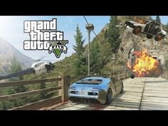 GTA V - Mount Chiliad Police Chase - YouTube  #Gaming #VideoGames #GTAV