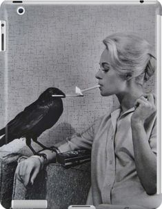 Vintage Photography, White Photography, Classic Photography, Classic Hollywood, Old Hollywood, Hollywood Glamour, Potnia Theron, Tippi Hedren, Philippe Halsman