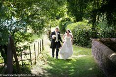 Summer wedding Huntsham court