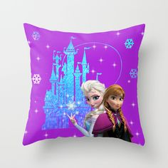 Buy elsa and anna by kidsLand as a high quality Throw Pillow. Worldwide shipping available at Society6.com. Just one of millions of products available.