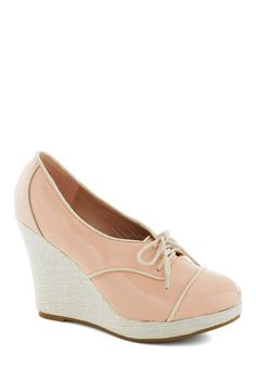 City in Pink Wedge
