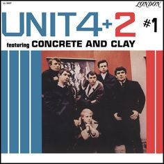 """""""Unit 4+2 #1"""" (1965, London).  First US LP by the British, primarily acoustic, folk group, Unit 4+2.  Contains their hit single, """"Concrete And Clay."""""""