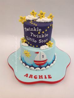 Twinkle, Twinkle Little Star (the 3rd version) - by Thecraftykitchen @ CakesDecor.com - cake decorating website