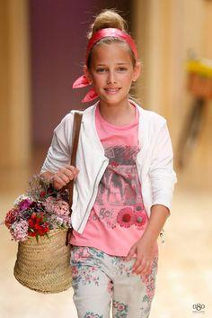 080 Barcelona Fashion Show - Bóboli SS/2015. Julia Mayer for Sugar Kids Agency.