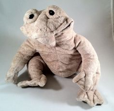 "Cuddly Quarry Critters ""Floppy"" Frog Second Nature Plush Beige Stuffed Animal"