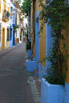 Marbella, Spain...I was exactically rite here, i saw this building