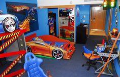 69 best ideas for diy room ideas for boys hot wheels Hot Wheels Bedroom, Car Bedroom, Kids Bedroom, Bedroom Ideas, Chambre Hotwheels, Room Decor For Teen Girls, Boys Room Design, Baby Boy Rooms, Trendy Bedroom