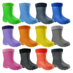 GALLUX - Kinder Gummistiefel superleichte gefütterte Stiefel aus EVA - http://on-line-kaufen.de/gallux-regenstiefel/gallux-superleichte-eva-kinder-regenstiefel-und