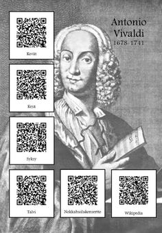 Antonio Vivaldi Antonio Lucio Vivaldi, Music Worksheets, History For Kids, Primary Music, Music Composers, Elementary Music, Music Classroom, Music Theory, Teaching Music
