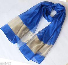 """Lady Women/'s Black Thai Pure 100/% Silk Scarf Shawl Wrap 70X25/"""" Neck Scarf"""