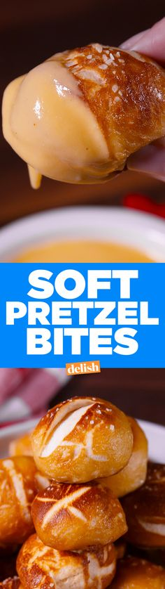 These soft pretzel bites will save you a trip to Auntie Anne's. Get the recipe on Delish.com.