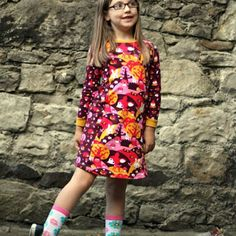 Kitschy Coo Mini Penny Pinafore - Downloadable Pattern
