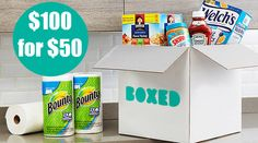 Boxed.Com: $100 Worth of Diapers, Food, and More $50 + Free Shipping *HOT* - http://www.swaggrabber.com/?p=283794