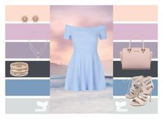 """""""Formal date"""" by ashika-2905 ❤ liked on Polyvore featuring Seed Design, New Look, Michael Kors, Carvela, Charlotte Russe and Kenza Lee"""