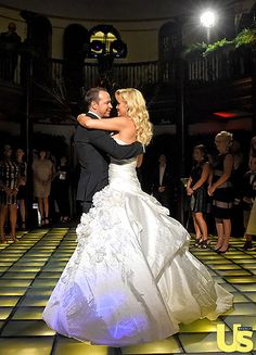 """Jenny McCarthy and Donnie Wahlberg's first dance was to """"Edelweiss"""" from The Sound of Music."""